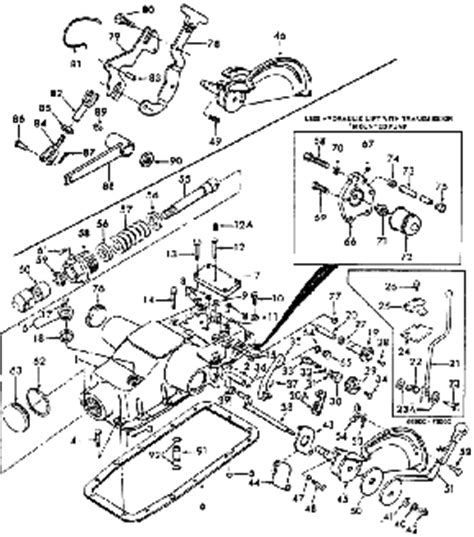 ford 4600 tractor parts diagram ford 5600 parts diagram ford free engine image for user