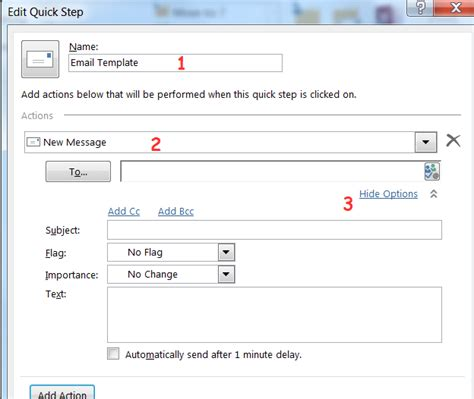 how to create a template for the fastest way to create email templates in outlook 2010