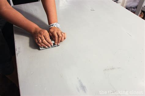 chalk paint distressing tutorial the beginner s guide to distressing with sloan chalk
