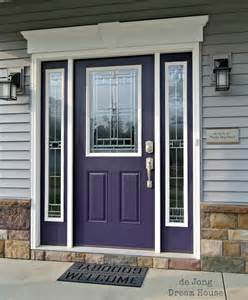 Plum Front Door 7 Popular Front Door Colors And What They Say About The Homeowner Williamson Source