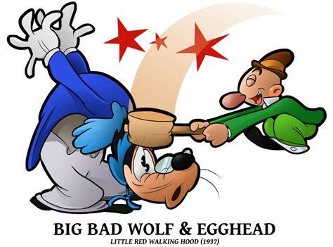 the walking egghead a 1937 big bad wolf n egghead by boscoloandrea on