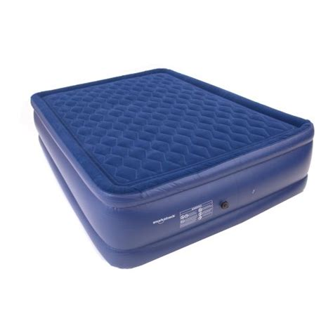 raised pillow top air bed air mattress with electric