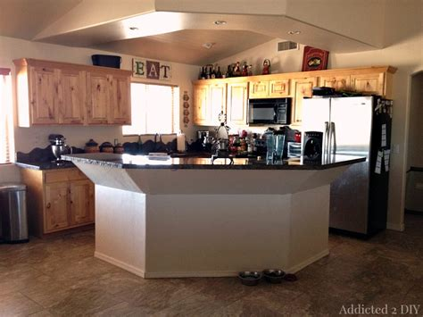 kitchen design degree before and after diy kitchen island makeover addicted 2 diy