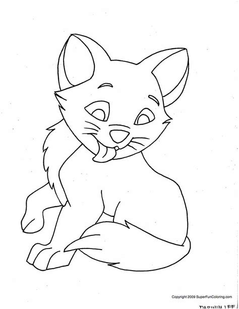 printable coloring pages cats kitty cat coloring pages free printable pictures