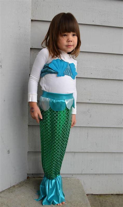 homemade mermaid costume pattern allfreesewingcom