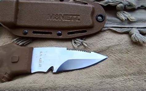 mcnett knife mcnett tactical utility knife review survival