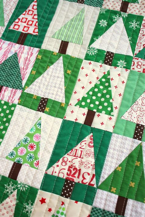 Quilt And Patchwork - patchwork tree quilt block tutorial mini quilts