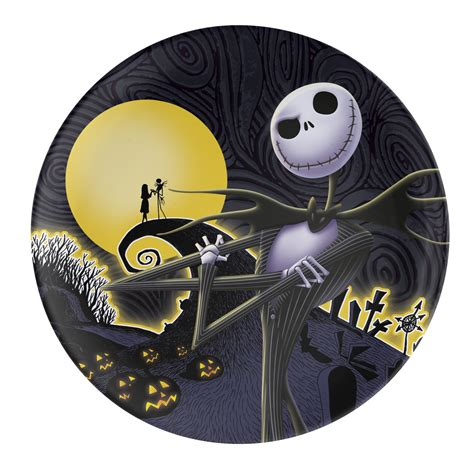 nightmare before christmas plastic dinner plates for sale