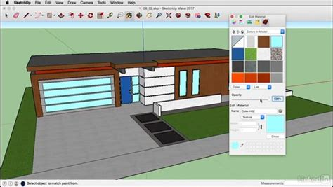 tutorial sketchup mac edit materials on a mac