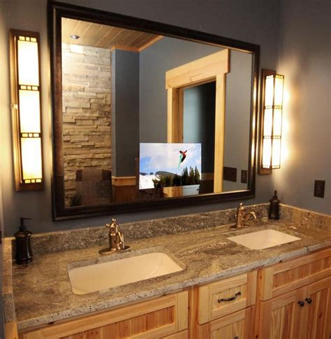 tv in mirror in bathroom 50 best images about seura products on pinterest