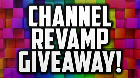 Giveaway Thumbnail - channel rev giveaway thumbnail pack banner giveaway youtube