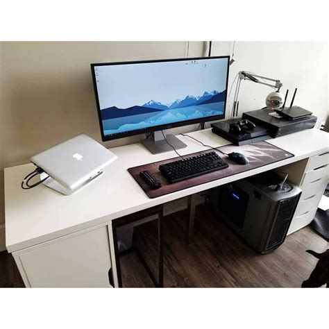 530 Best Techno Room Images On Pinterest Desks Computer Gaming Station Desk