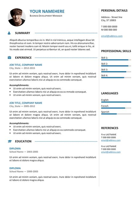 Gastown2 Free Professional Resume Template Free Templates Professional