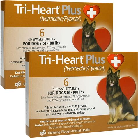 tri for dogs tri plus for dogs 51 100 lbs 12 mnth