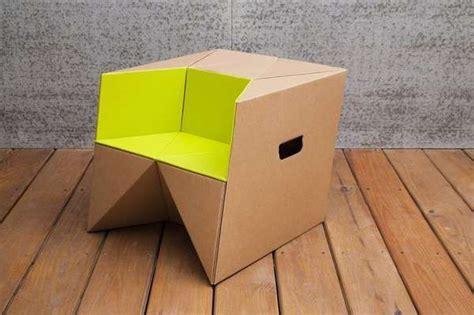 Cardboard Origami - 33 creative cardboard furniture designs