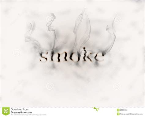word smoke stock illustration illustration  movement