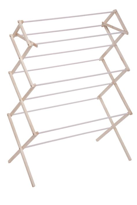 Clothes Drying Rack by Wooden Clothes Drying Rack Clotheslines