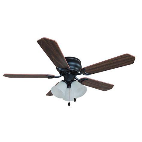 rubbed bronze ceiling fan light kit rubbed bronze 42 quot hugger ceiling fan with light kit