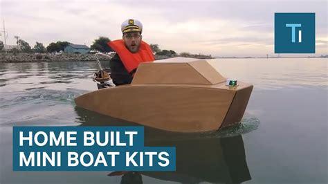 build   mini motorboat    kit