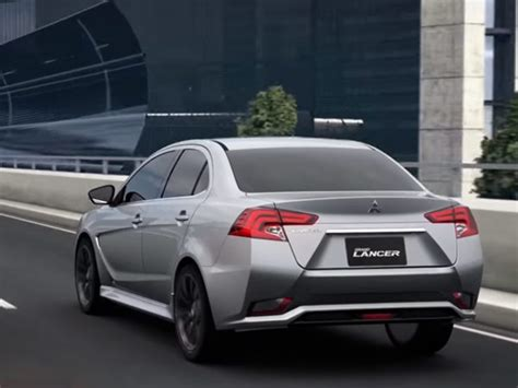mitsubishi grand lancer 2017 mitsubishi lancer grand lancer leaked ahead of