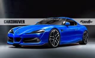 Toyota Concept Cars Toyota Supra Concept Coming In October News Car And
