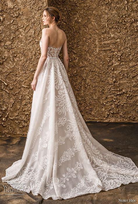 Bv Dress Santico 1 nurit hen 2018 wedding dresses golden touch bridal collection wedding inspirasi