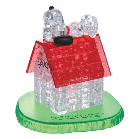 bepuzzled  crystal puzzle snoopy house  pcs