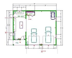 Shop Floor Plans by Small Garage Shop Ideas Ultimate Home Woodshop My Home