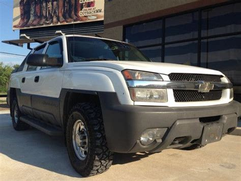repair anti lock braking 2005 chevrolet avalanche 2500 security system sell used 2005 chevrolet avalanche 2500 ls crew cab pickup 4 door 8 1l chevy 4x4 in pinehurst