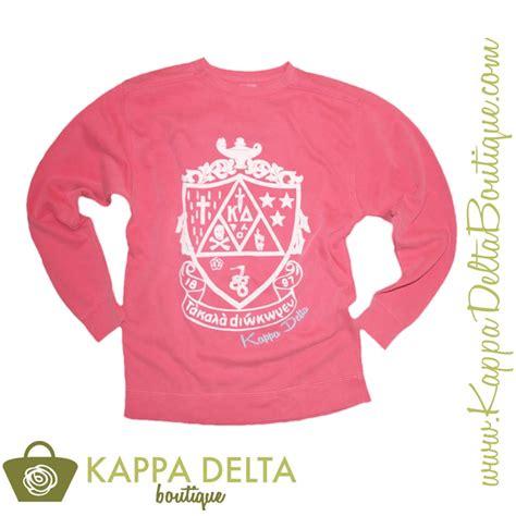 watermelon comfort colors comfort colors watermelon kappa delta crest sweatshirt