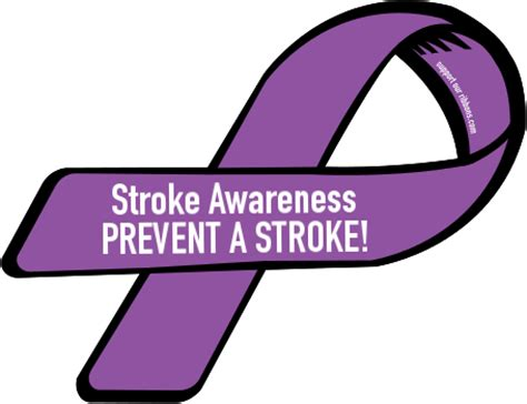 stroke awareness color custom ribbon stroke awareness prevent a stroke