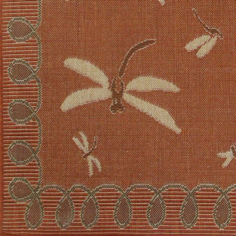 dragonfly outdoor rug dragonfly terracotta outdoor rugs rug area outside