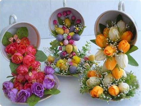 Bunga Artificial Pot Vas Bunga Cangkir Tea Cup Keramik Ceramics S diy home decor crafts or gift ideas how to make quot flying