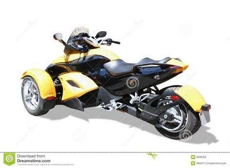 Motorrad Mit Drei R Dern motorrad mit drei r 228 dern stockfotos bild 6035563