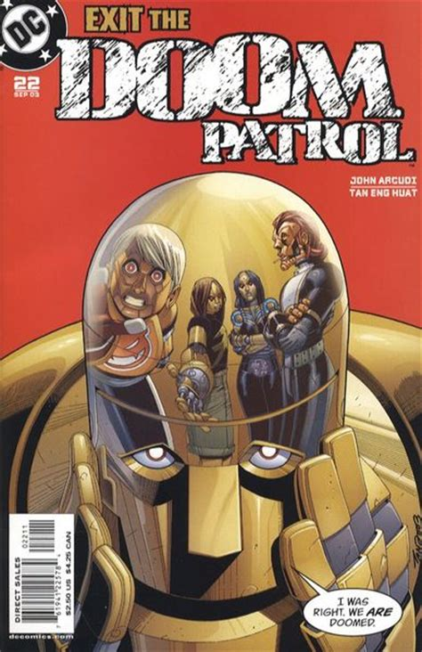 slick significant brothers volume 3 books doom patrol vol 3 22 dc comics database