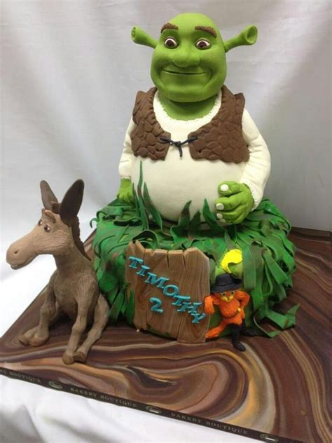Shrek Is Chic by 82 Besten Shrek Cakes Bilder Auf