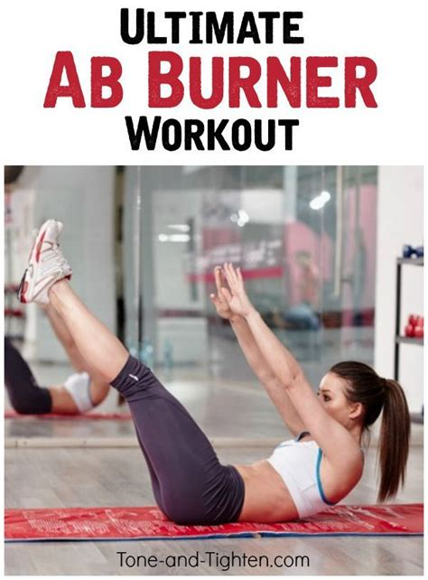 combining the best ab toning exercises with some indoor