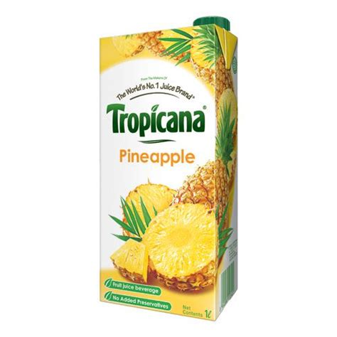 Buy Pineapple L by Tropicana Juice Pineapple 1 Ltr Tetra Buy At