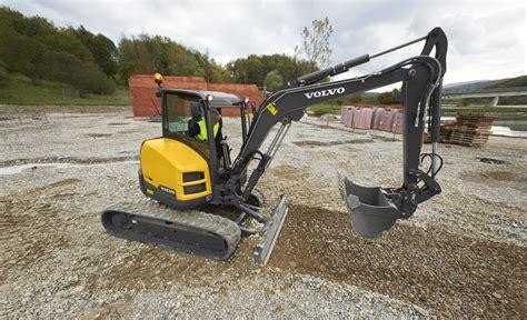 volvo ecrd compact excavator product specs cjd