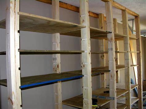 diy garage shelving ideas guide patterns