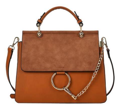 Satchel Bag No Brand 2017 sac a flap satchel bag brand designer handbag faux suede ring chain