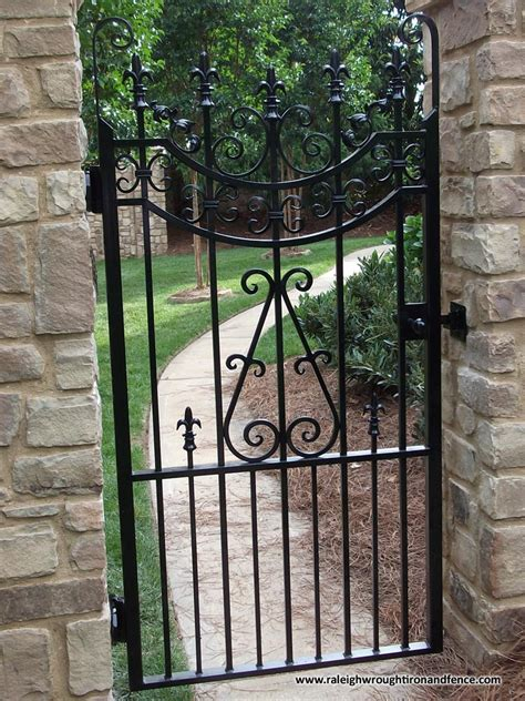 wrought iron gate iron gates and fences designs home mansion