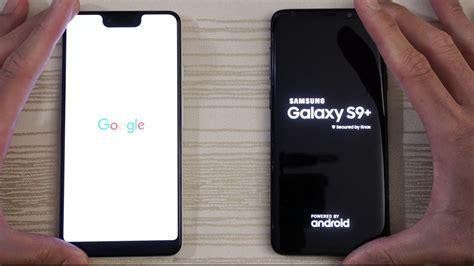 pixel 3 xl vs samsung s9 plus speed test