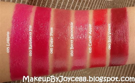 Lip Butter makeupbyjoyce swatches revlon colorburst lip