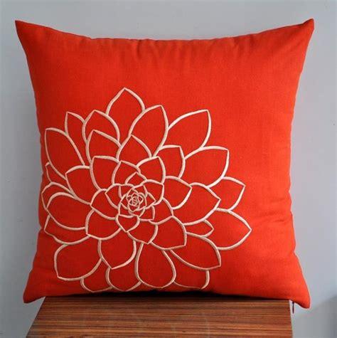 Decken Und Kissen by Orange Pillow Cover Decorative Pillow Cover Throw Pillow