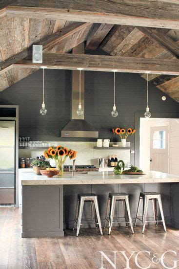 Rustic Modern Kitchen Ideas 66 Gray Kitchen Design Ideas Decoholic