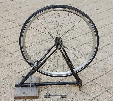 diy wheel truing truing stand