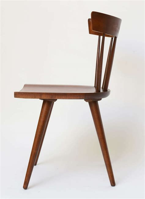 Single Dining Room Chair Single Paul Mccobb Spindle Back Chair In Maple At 1stdibs