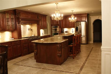 maple kitchen cabinets with glazed cherry finish i really like the floor house decorators