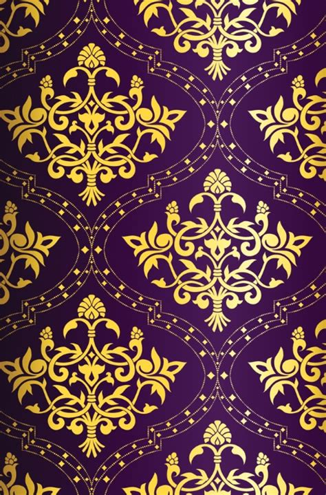 gold pattern iphone wallpaper beautiful purple and gold pattern patterns pinterest